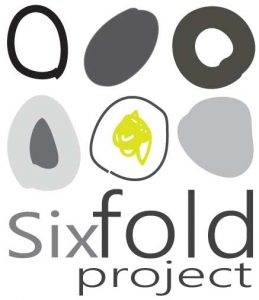 Australian artist collaboration, Sixfold Project, logo