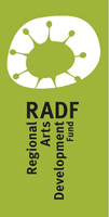 Regional Arts Development Fund logo