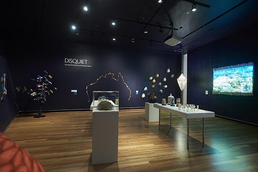 Environmental art exhibition, Gallery view Artspace Mackay 2020
